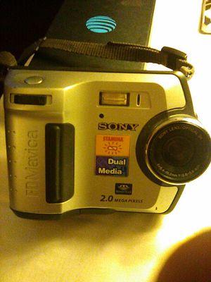 Sony mvc- fd200 digital still camera for Sale in Kingsport, TN