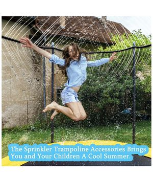 Trampoline Sprinkler Waterpark 26FT - Best Outdoor Summer Fun Toys Outside for Sale in El Cajon, CA