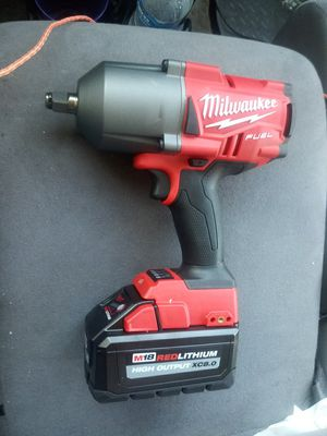 """Brand new! Milwaukee M18 1/2"""" Fuel Impact with 8 amp battery for Sale in Lafayette, LA"""