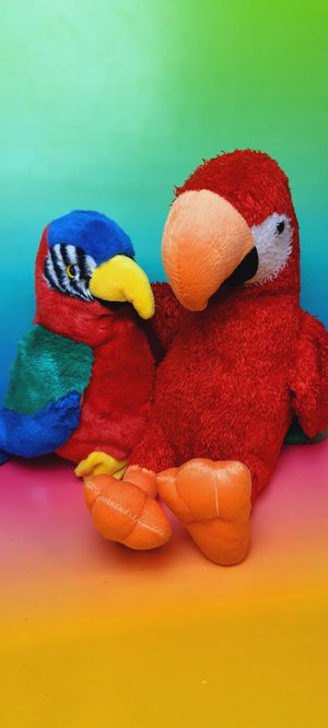 Toy Factory and TY Parrots 11 Inch Plush Toys for Sale in Santa Ana, CA