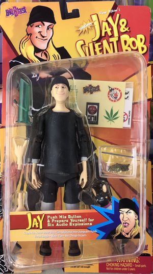 BIG BLAST Jay & Silent Bob Action Figure for Sale in Irving, TX
