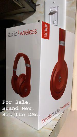 Beats Studio 3 Wireless Headphones - New for Sale in Fairview, NJ