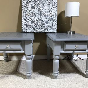 Set Of Wood End /side Tables Bedside Tables for Sale in Marietta, GA