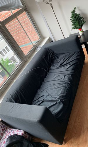Sofa, perfect condition $100. $120 with pillows for Sale in Washington, DC