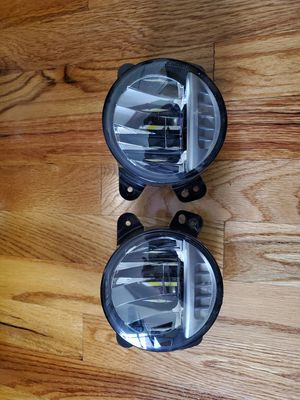 Jeep Wrangler 07-18 fog lamps assy LED for Sale in New York, NY