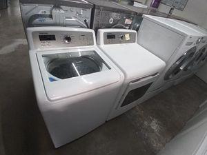 Samsung washer steam dryer steam gas nice set for Sale in Houston, TX