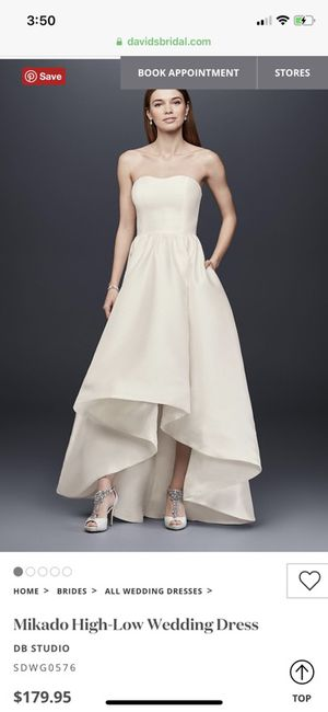 Never used wedding dress size 6 for Sale in Silver Spring, MD