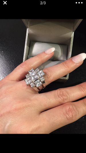 High Quality 14K Gold plated Radiant Cut Ring- Emerdad for Sale in Houston, TX