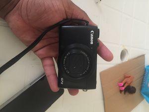 Canon Powershot G7x for Sale in Grosse Pointe Park, MI