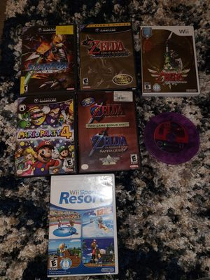Gamecube and wii games for Sale in Burleson, TX