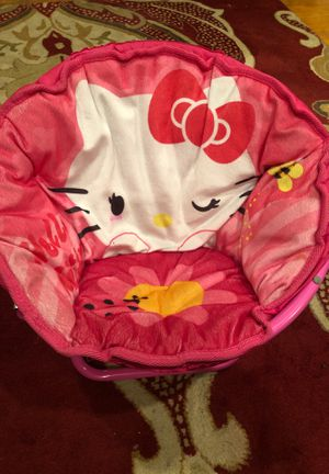 Hello Kitty foldable Child's chair for Sale in Rancho Cucamonga, CA