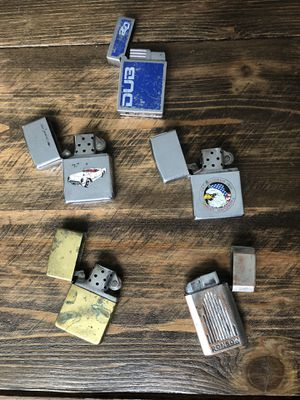 Vintage zippo lighters for Sale in Olympia, WA