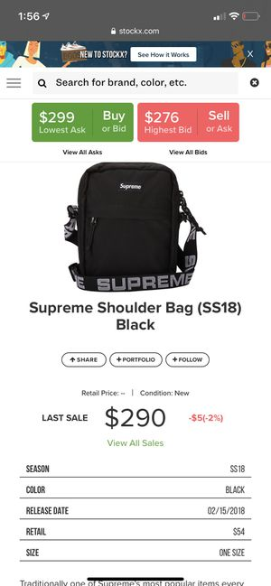 Supreme bag worn 1x for Sale in Kissimmee, FL