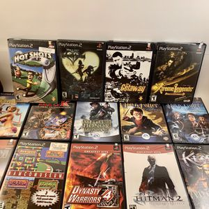 PS2 Video Games - Set of 14 in great condition for Sale in North Brunswick Township, NJ