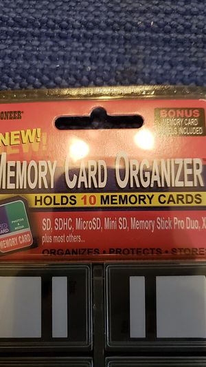 Memory card organizer for Sale in Germantown, MD