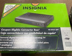 Insignia DTV converter box for Sale in St. Louis, MO