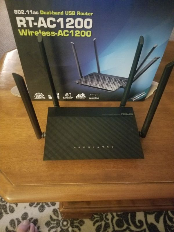ASUS RT-AC1200 ROUTER
