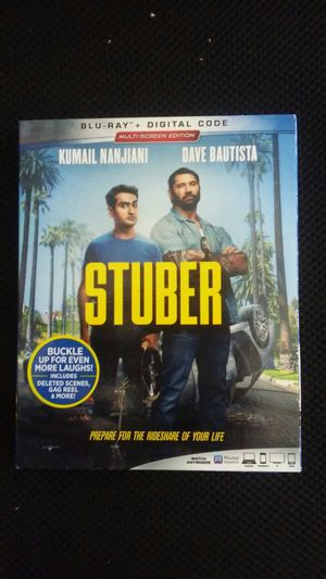Stuber blueray only for Sale in Los Angeles, CA
