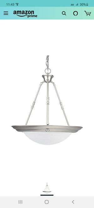 "Pendant light- 20"", new but missing glass bowl for Sale in Nashville, TN"