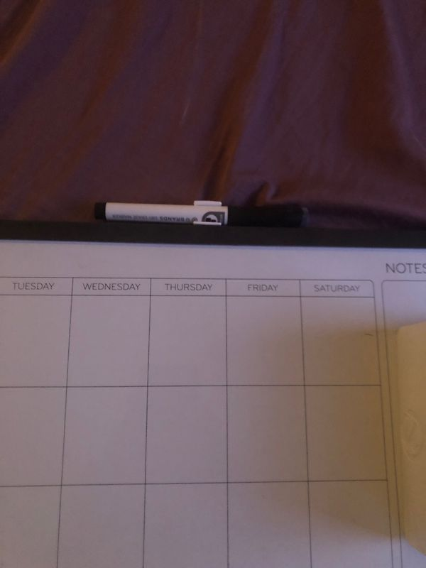 Magnet Dry Erase Calendar