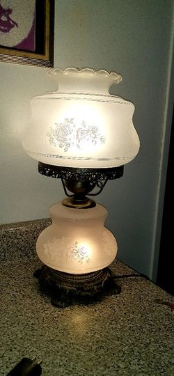 Vintage GWTH style 2 Way Hand Painted Parlor Lamp for Sale in Pittsburgh,  PA