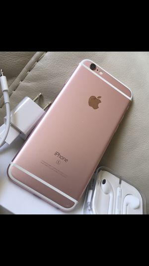 iPhone 6s rose gold, excellent condition factory unlocked for Sale in Springfield, VA