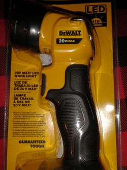 DeWalt DCL040 20v Max Led Work Light Tool Only for Sale in Glendale,  AZ