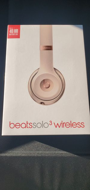 Beats by Dre Solo 3 Wireless Headphones for Sale in Downey, CA