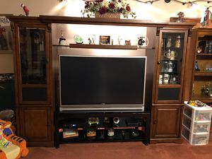 Entertainment center. Tv not included for Sale in St. Louis, MO