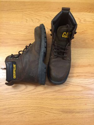 Caterpillar work boots size 10 for Sale in Everett, WA