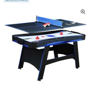 Hathaway Games 5' Two Player Air Hockey Table with Manual Scoreboard for Sale in La Plata, MD