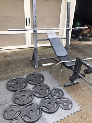 Weight Bench / Squat Rack for Sale in Alpharetta, GA