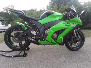 2011 KAWASAKI ZX10R ABS Motorcycle 5070 MILES(READ DECRIPTION) for Sale in Palmetto, FL