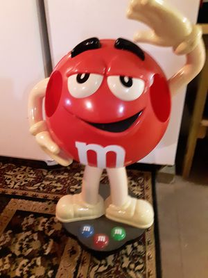 Red m&m character store display for Sale in Albany, NY