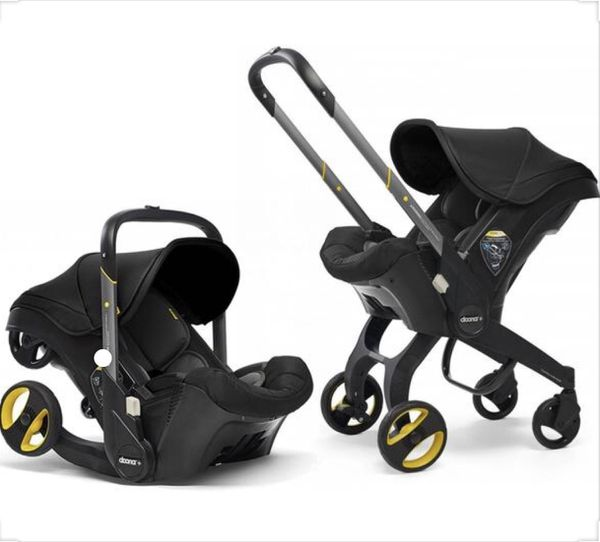 Doona car seat and stroller all in one.