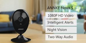 IP Camera, ANNKE Nova S 1080P HD WiFi Wireless Security Camera, Work with Amazon alexa for Sale in Spotswood, NJ