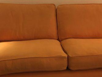 Orange Sofa for Sale in Tampa,  FL