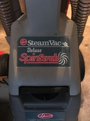 Hoover Deluxe spin-scrub steam vacuum for Sale in Vancouver, WA