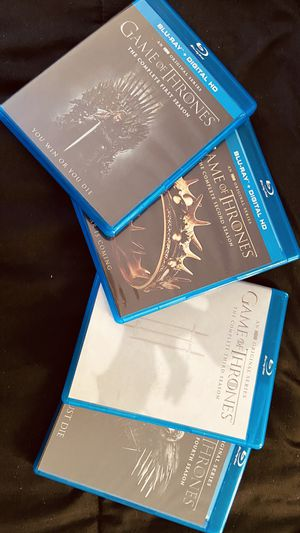 Game of Throne Blu-ray Season 1-4 for Sale in Lutz, FL