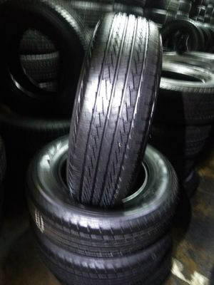 set of four tires pirrelli 255/70/18 semi new 95%TREAD LIFE $300 INCLUDE PROFESSIONAL INSTALATION AND TAX for Sale in Downey, CA