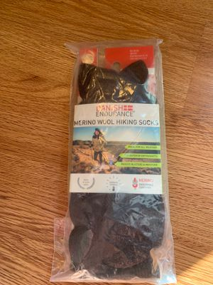 Brand new sealed Danish endurance Marino wool hiking socks size small. I have several. . Pick up in Jupiter for Sale in Jupiter, FL