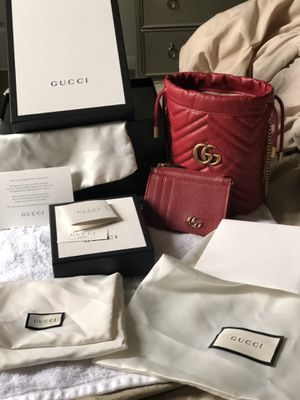 Authentic Gucci bag and wallet for Sale in Philadelphia, PA