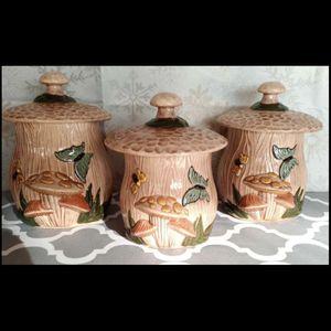 Vintage antique Mushroom Ceramic Set for Sale in Los Angeles, CA