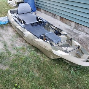 Cabelas Advanced Anglers 120 Kayak for Sale in Cumberland, RI