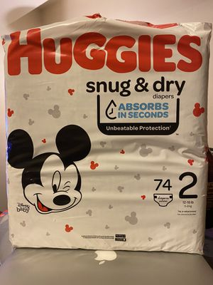 Huggies - Snug & Dry size 2! for Sale in Queens, NY