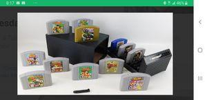 Nintendo 64 games for Sale in Germantown, MD