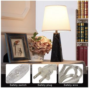 Doraimi Chrome Table Lamp with Fabric Shade, White for Bedroom Living Room Coffee Desk Lamp - Brand New In the Box for Sale in Temple City, CA