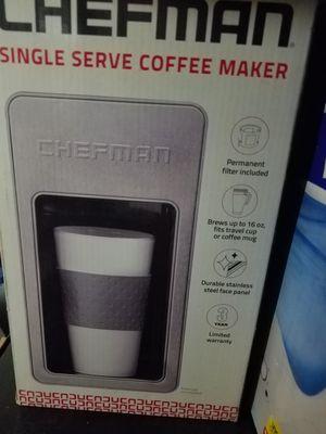 Chefman Single Serve Coffee Maker for Sale in Lancaster, CA