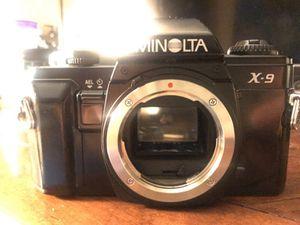 Minolta x-9 (Manuel film Camera) for Sale in Phoenix, AZ