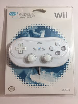 Brand New Original Nintendo Wii Classic Controller for Sale in Honolulu, HI